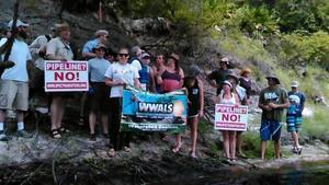 Movie: How many pipelines do we want? None! When do we want it? Never! (15M) 30.4071293, -83.1568298