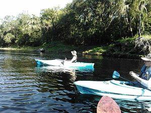 Boats at Alapaha Confluence 30.4365768, -83.0963593
