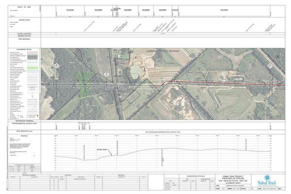 STA. 12818+00 TO STA. 12871+00, Clyatt Mill Creek, Railroad Ave.