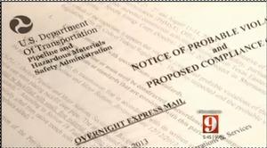 PHMSA fines