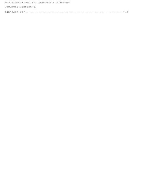 20151130-0023 FERC PDF