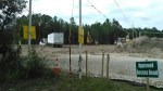 Approved Access Road, CAUTION, No Trespassing, 30.7873010, -83.4457610