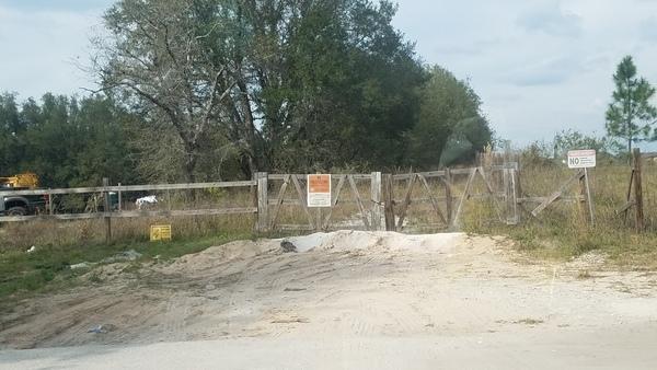 No Trespassing, Orchid Drive