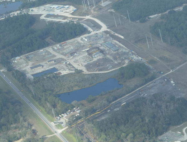 NW across Reunion Compressor Station from Ace Wrecker Service, 6671 Osceola Polk Line Rd, Davenport, FL 33896,