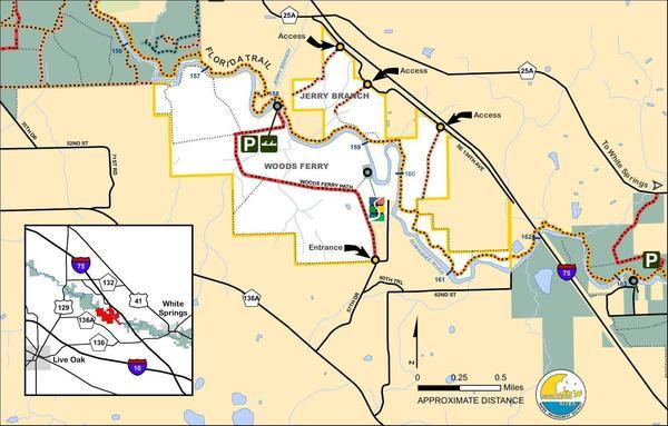 Woods Ferry Tract Map