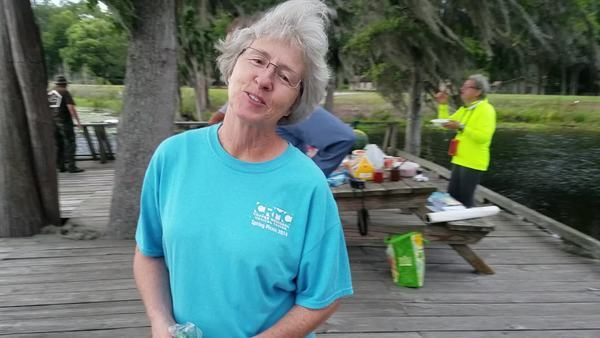 Movie: Shirley from Pearson enjoys the monthly paddles with WWALS (20M)