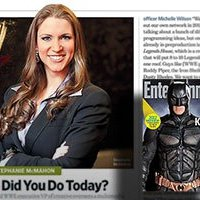 """Entertainment Weekly"" shadows WWE's Stephanie McMahon"