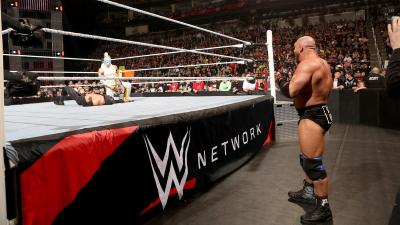 After winning the match, Ryback challenges Kalisto for a United States Championship Match at WrestleMania.