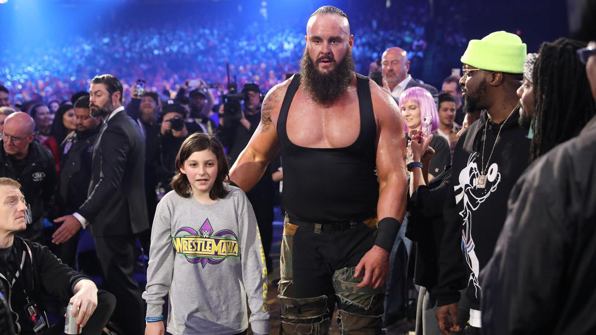Strowman finds Nicholas, who accepts the offer to be The Monster Among Men's partner!
