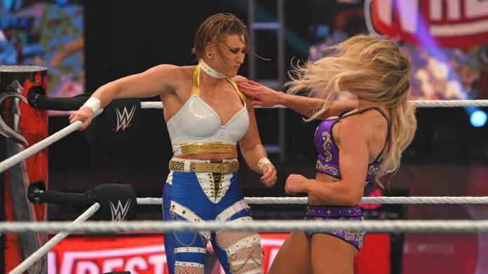 Rhea Ripley vs. Charlotte Flair