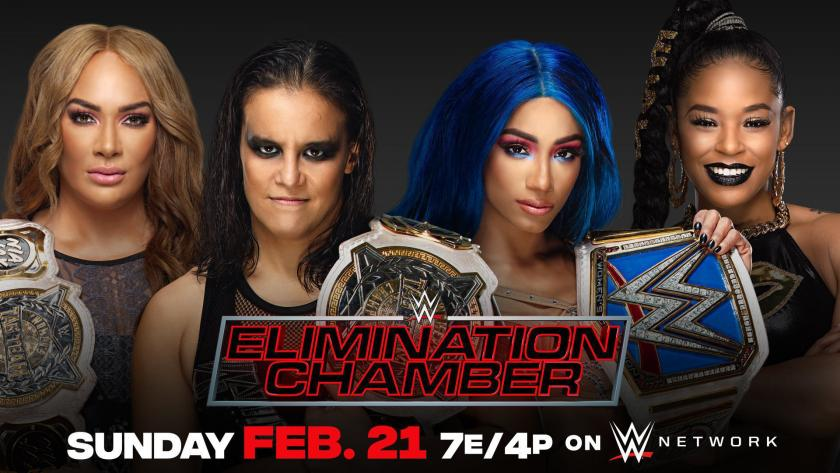 Image result for wwe elimination chamber 2021