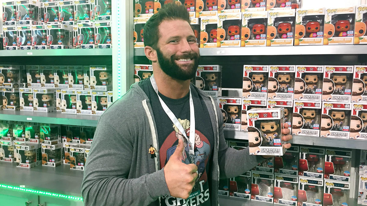 Zack Ryder And His Collection Featured In Making Fun The