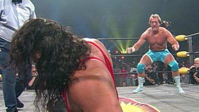 "Kevin Greene, Ric Flair & ""Rowdy"" Roddy Piper vs. Kevin Nash, Scott Hall & Syxx: Slamboree 1997 | WWE"