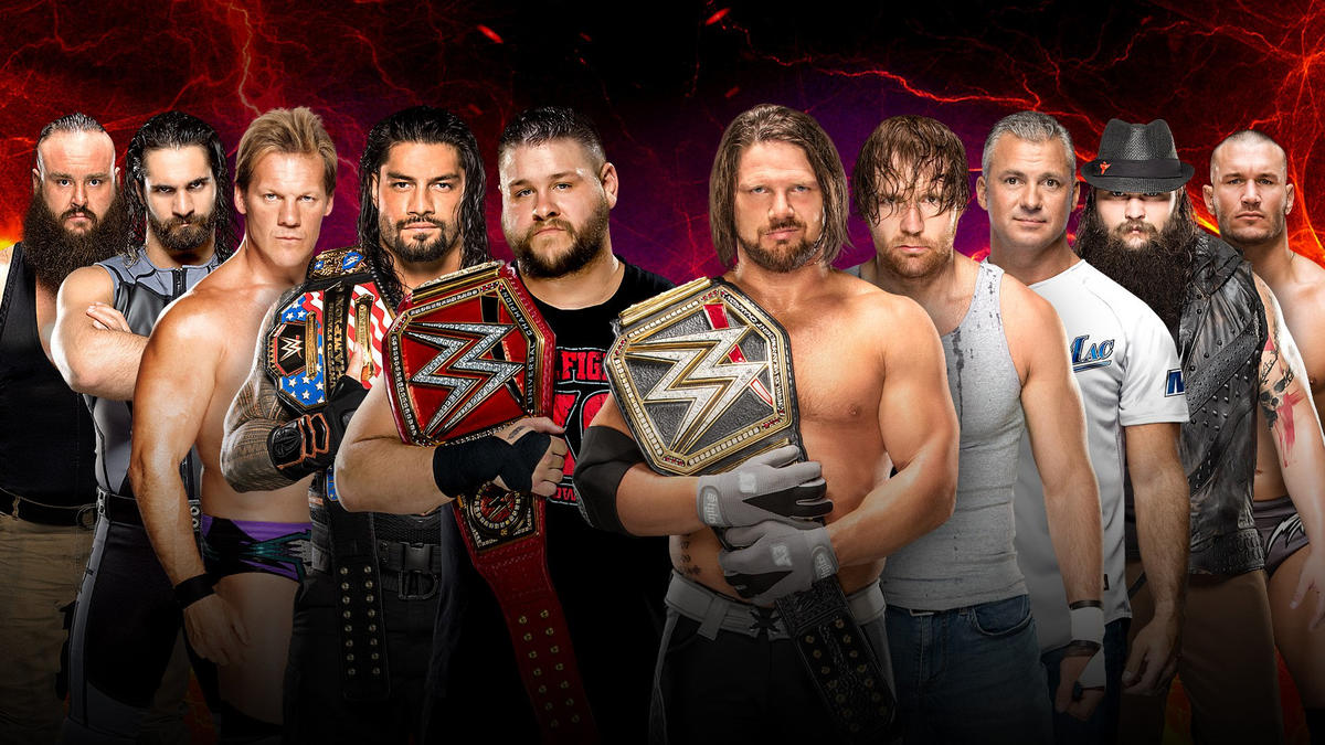 Image result for survivor series 2016 5 on 5 elimination