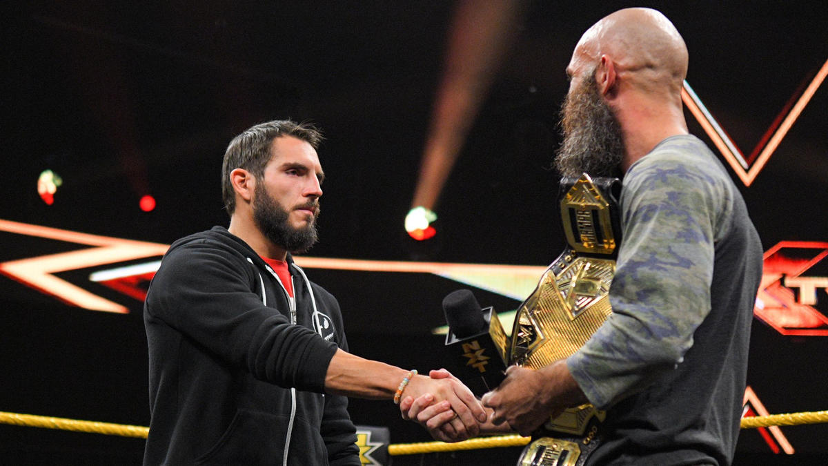 Johnny Gargano Agreed To Team With Tommaso Ciampa In The Dusty Rhodes Tag Team Classic WWE