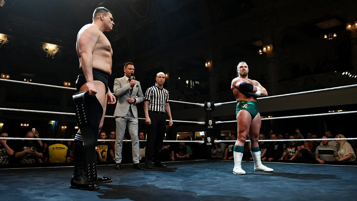 Relive WALTER's showdown with Joe Coffey on a special Christmas Eve edition of NXT UK today