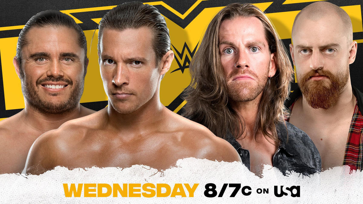 Grizzled Young Veterans take on Ever-Rise in Dusty Rhodes Tag Team Classic
