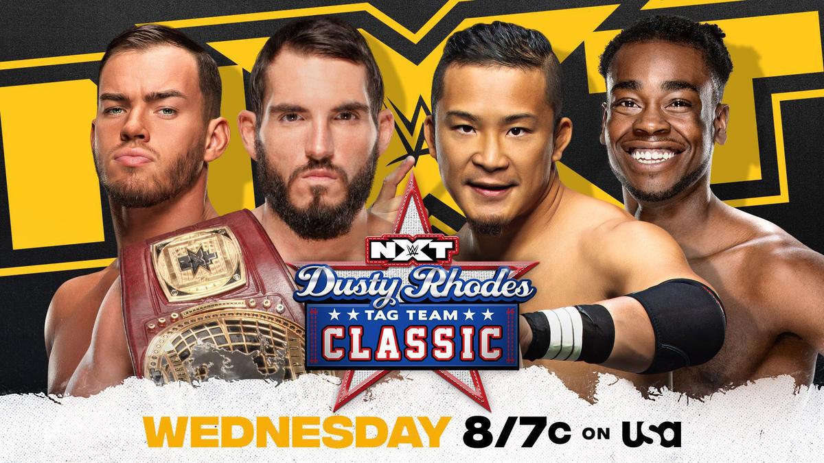 Kushida & Leon Ruff face Johnny Gargano & Austin Theory in Dusty Rhodes Tag Team Classic First-Round Match