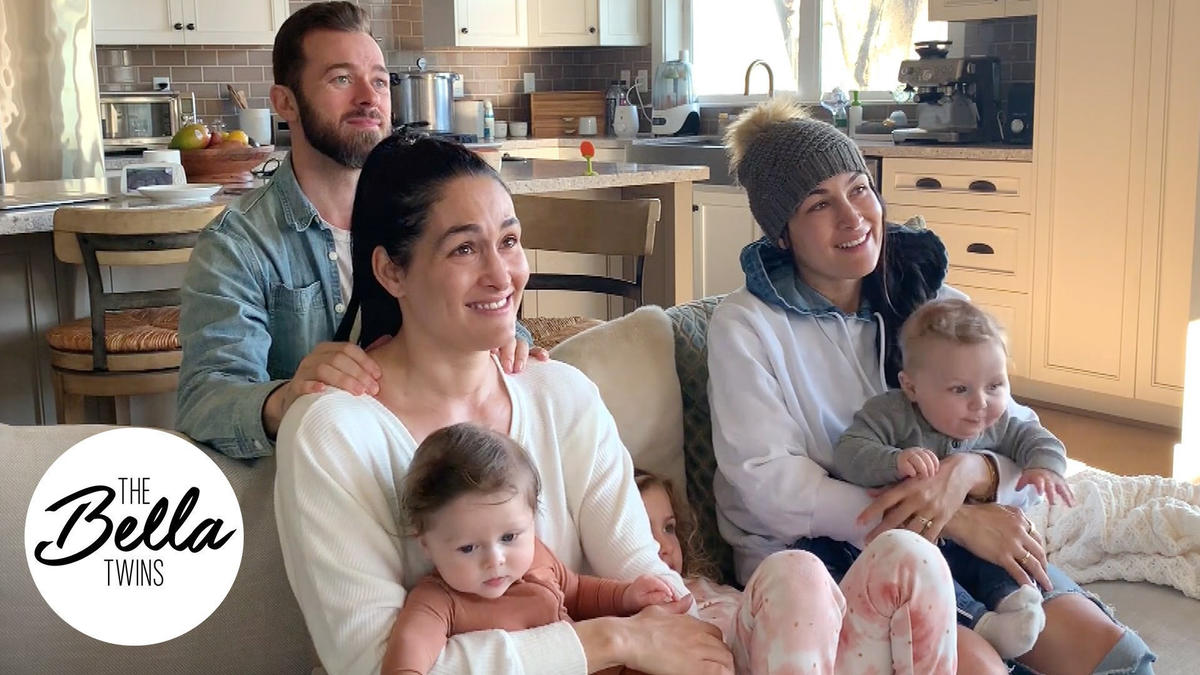 The Bella family watch the Total Bellas arrival of Matteo and Buddy