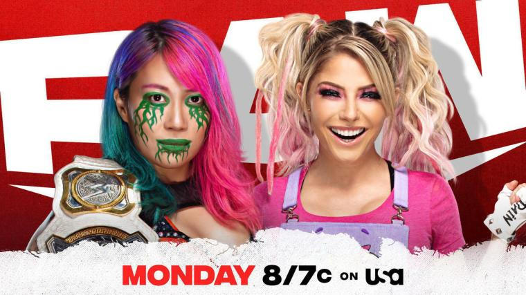 Asuka and Alexa Bliss to face off on Raw