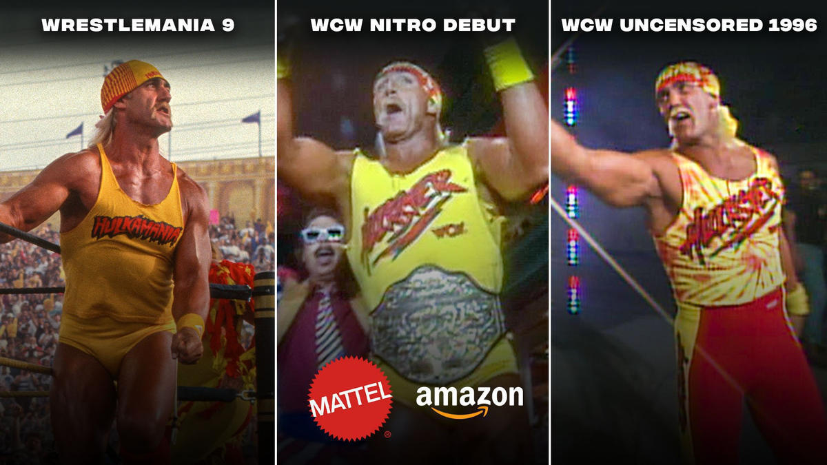 Vote now: Which Hulk Hogan will be part of Mattel's Ultimate Edition Fan TakeOver line?