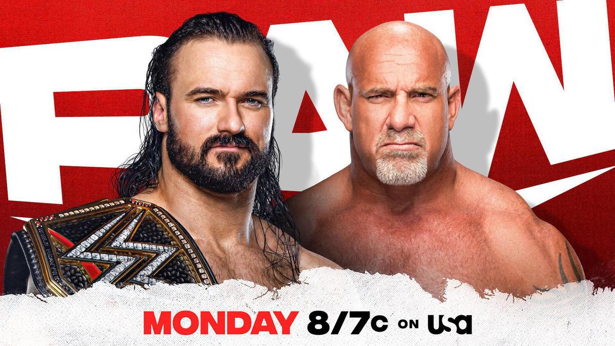 WWE Champion Drew McIntyre and Goldberg to return to Raw next week!