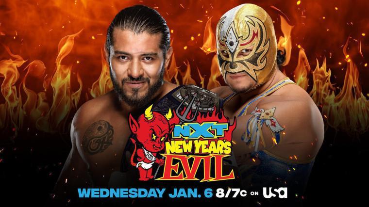 Gran Metalik to challenge Santos Escobar for NXT Cruiserweight Title at NXT New Year's Evil