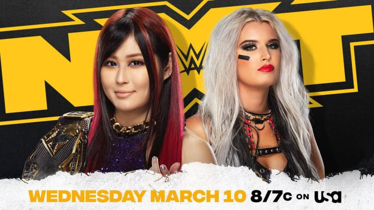Io Shirai to defend NXT Women's Championship against Toni Storm on March 10