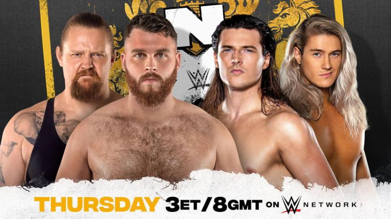 Pretty Deadly to challenge Gallus, Brookside to collide with Samuels on NXT UK