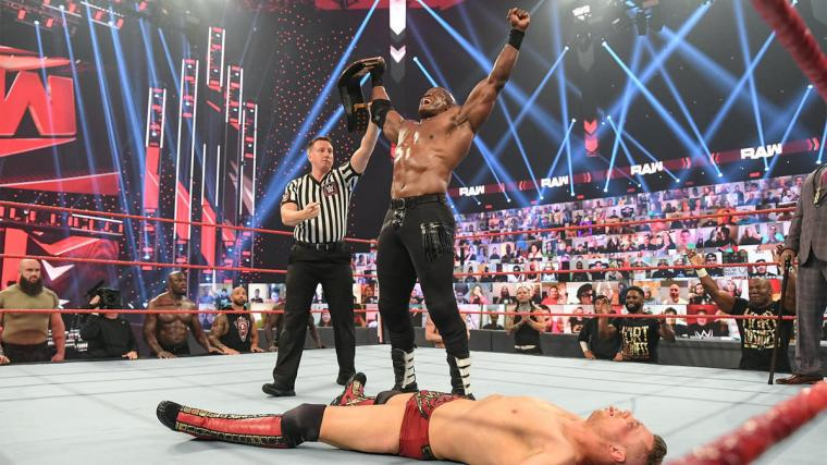 The WWE Universe reacts to Bobby Lashley's WWE Championship win