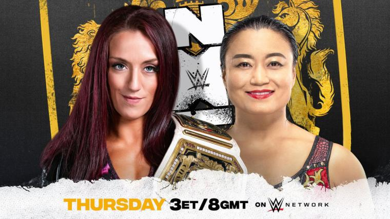 Kay Lee Ray to defend NXT UK Women's Championship against Meiko Satomura Thursday on NXT UK