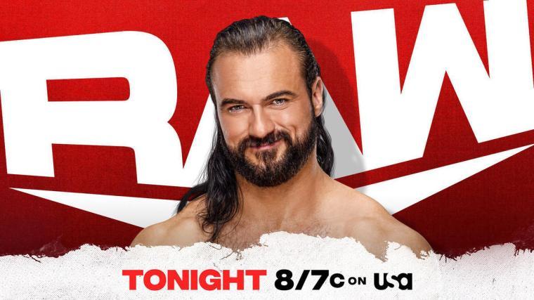 Drew McIntyre returns to Raw tonight