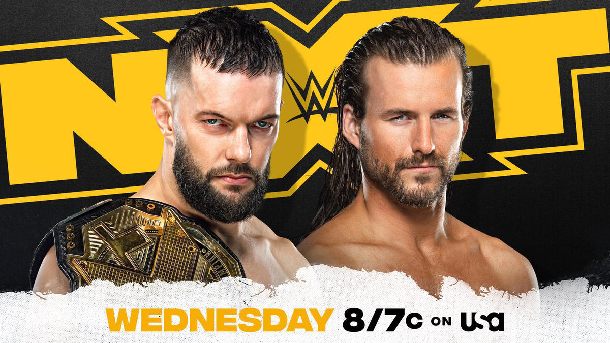 Finn Bálor to defend NXT Championship against Adam Cole next Wednesday