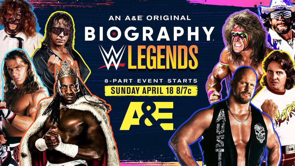 A&E, WWE offer drive-in screening sneak peeks of new WWE Legends 'Biography' series