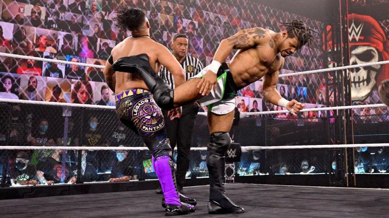 MSK def. Grizzled Young Veterans and Legado del Fantasma to win the vacant NXT Tag Team Championship
