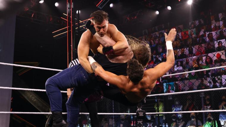 Killian Dain & Drake Maverick def. Breezango for an NXT Tag Team Title opportunity (Pre-Show)