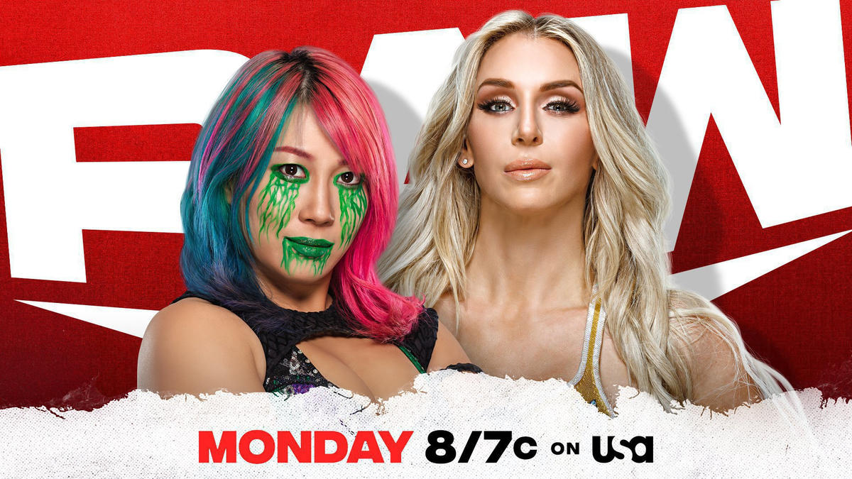 Asuka aims for payback against Charlotte Flair on Raw