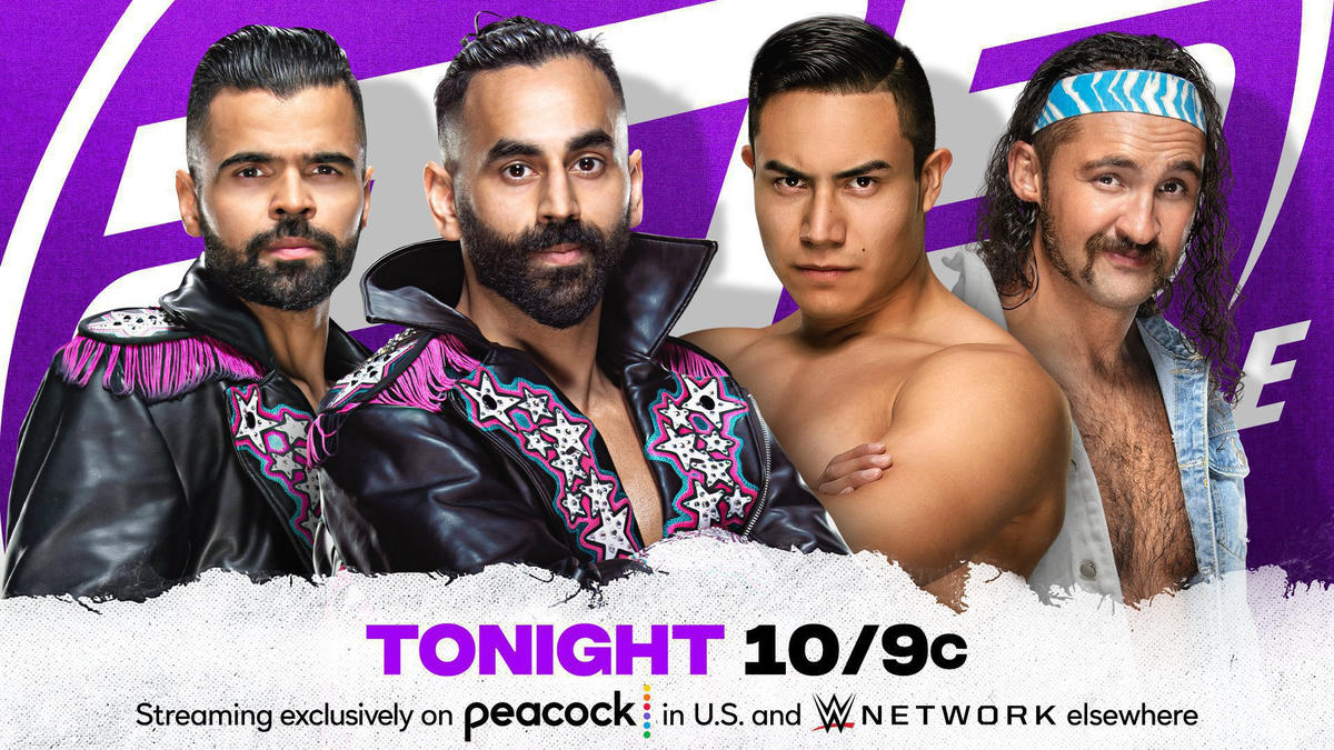 Pair of thrilling tag team bouts set for 205 Live