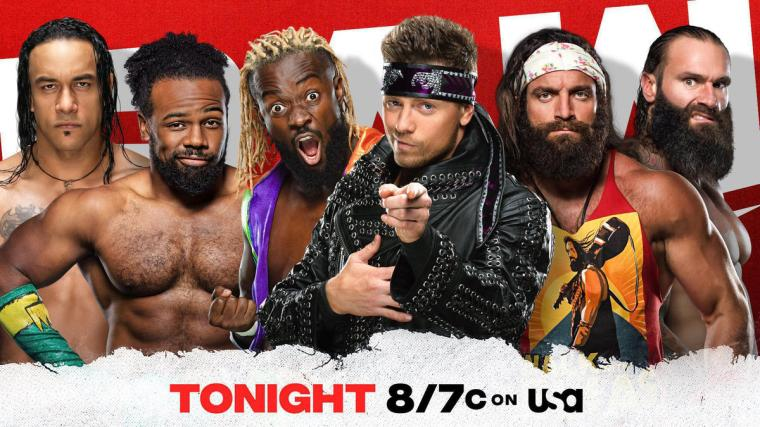 Damian Priest joins forces with The New Day against The Miz, Elias & Jaxson Ryker