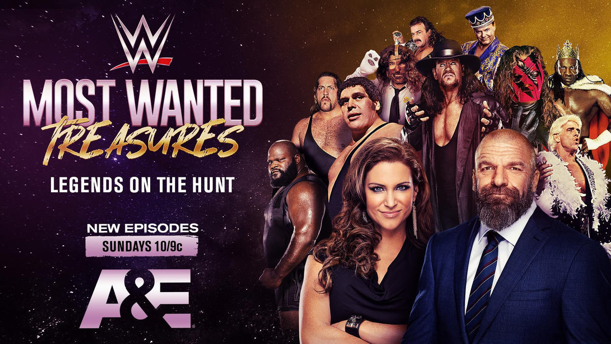 "WWE Legends ""Biography"" and ""WWE's Most Wanted Treasures"" to debut Sunday"