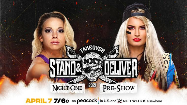Zoey Stark vs. Toni Storm (Night 1 Pre-Show)