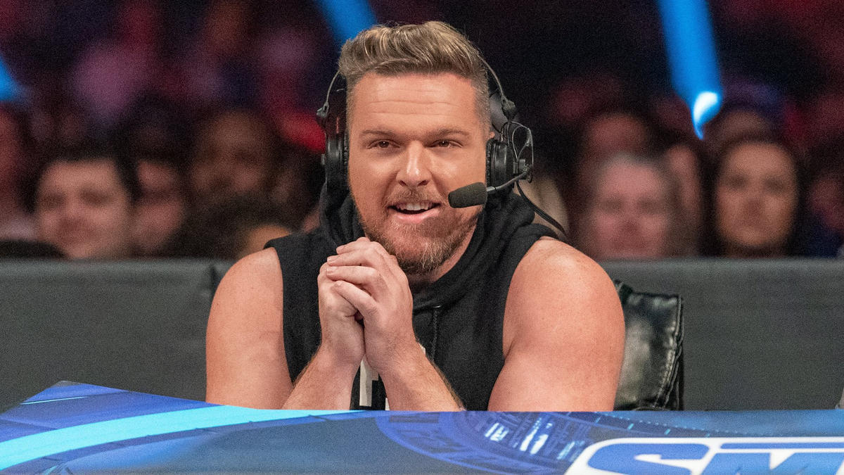Pat McAfee joins Friday Night SmackDown announce team