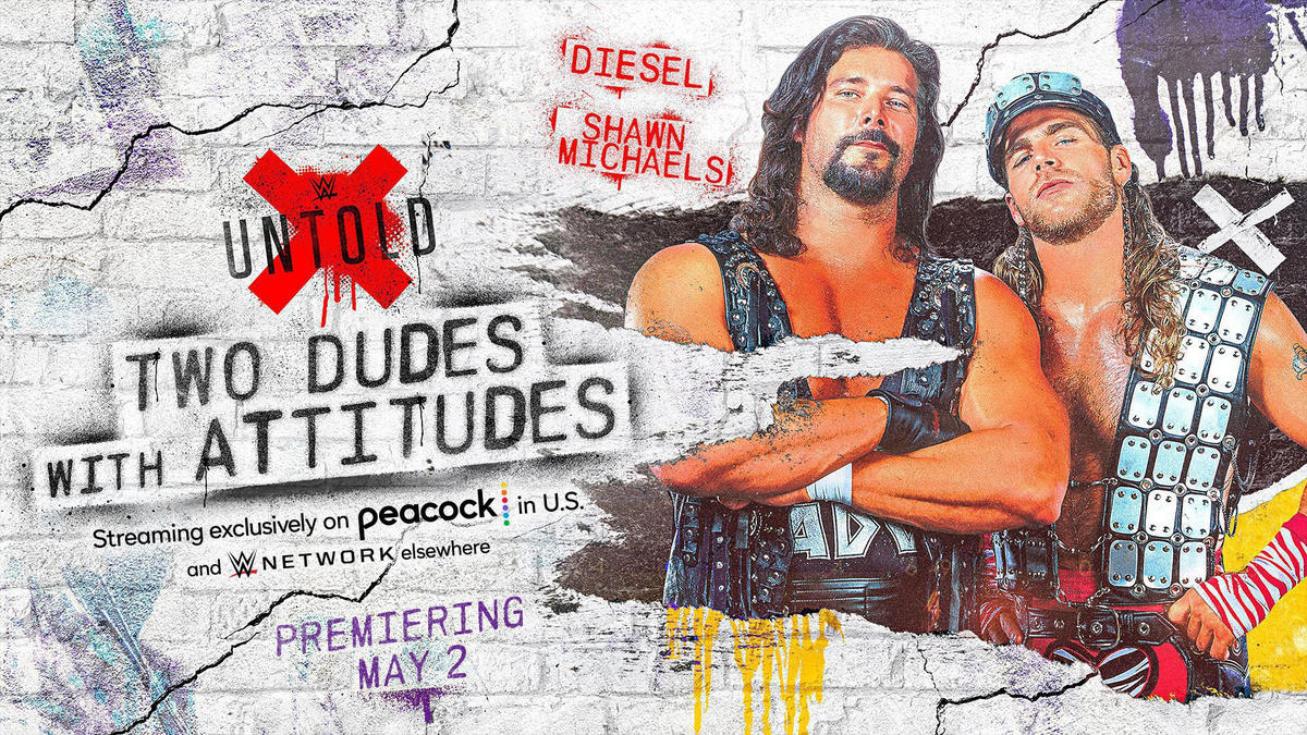 WWE Untold: Two Dudes with Attitudes to premiere Sunday, May 2 on Peacock