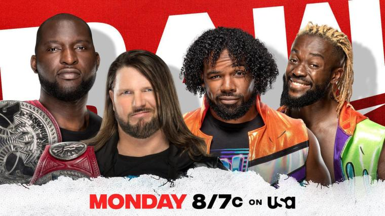 Raw Tag Team Champions AJ Styles & Omos set to defend against New Day in WrestleMania rematch on Raw