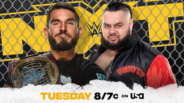 Johnny Gargano to put NXT North American Title on the line against Bronson Reed in Steel Cage Match