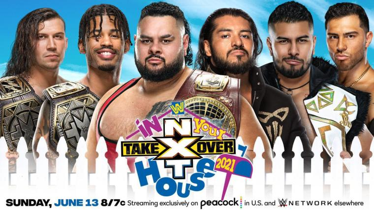 NXT North American Champion Bronson Reed & NXT Tag Team Champions MSK vs. Legado del Fantasma (Winner Take All Six-Man Tag)