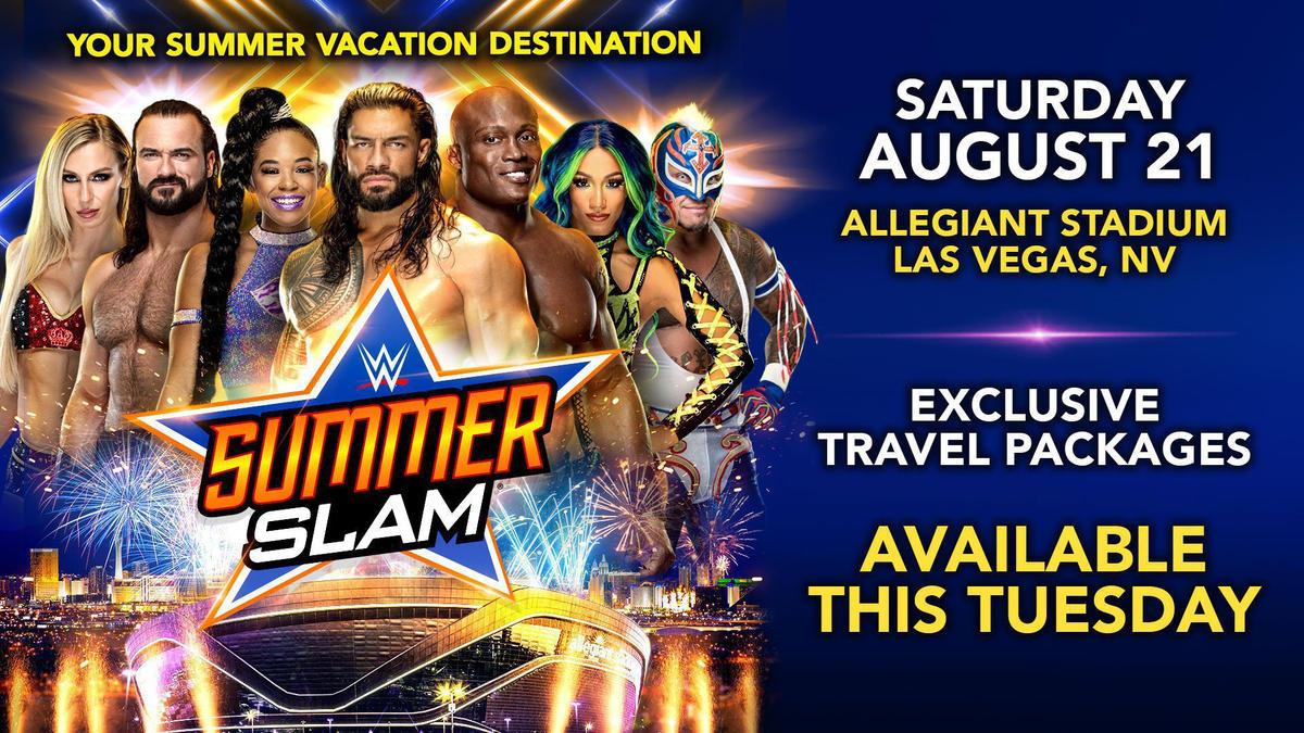 Get SummerSlam Travel Packages June 15 at 12 noon ET