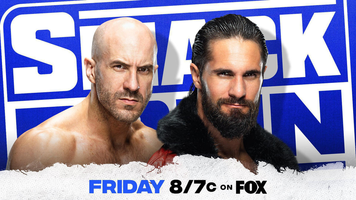 Cesaro faces off with Seth Rollins in a Money in the Bank Qualifying Match