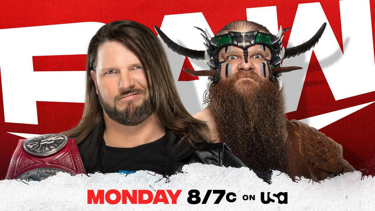 Ivar goes head-to-head with AJ Styles