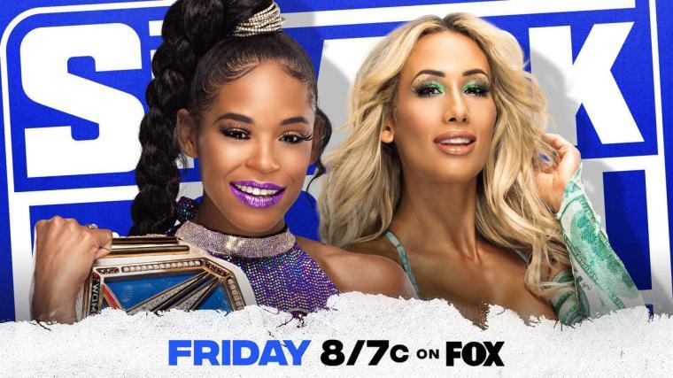 Bianca Belair battles Carmella in a SmackDown Women's Title Rematch